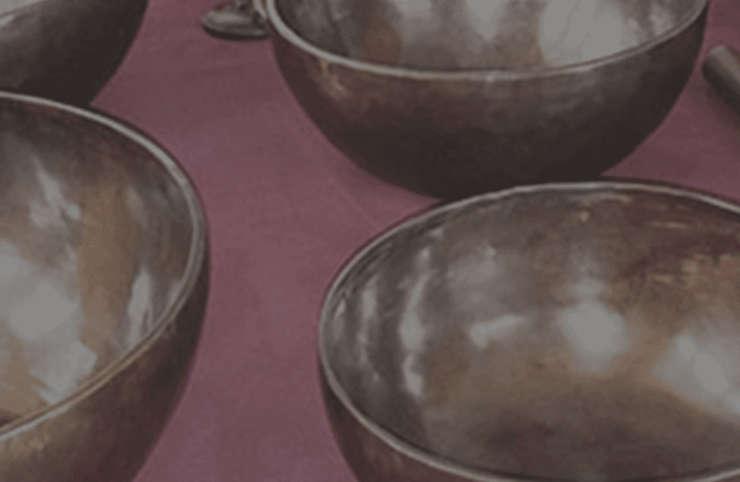Meditative Singing Bowls